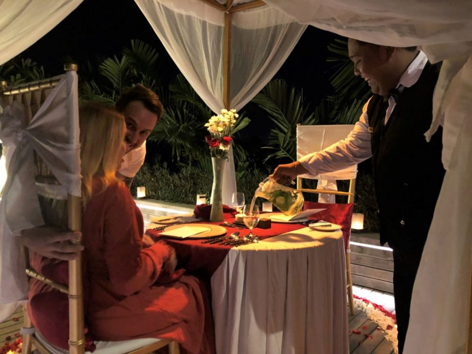 Royal Romantic Dinner
